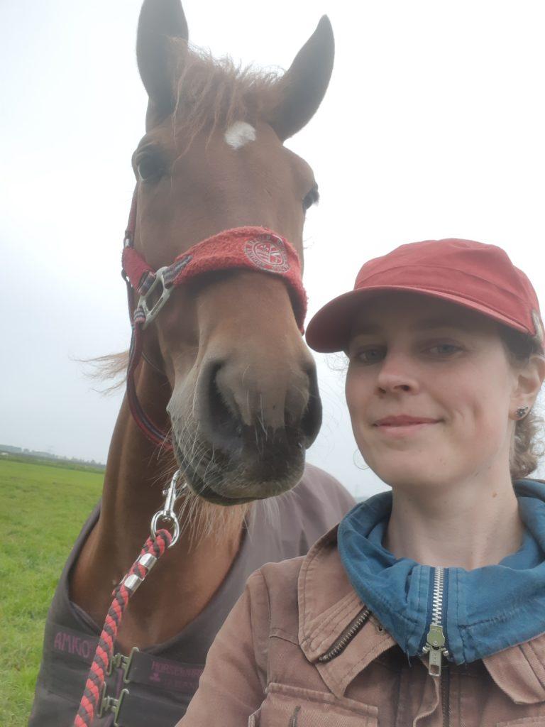 Selfie Laurien en Aro
